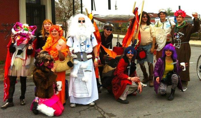 Our Mardi Gras krewe