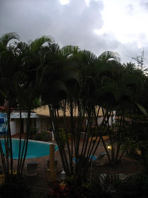 La Playita Hotel, where we live.