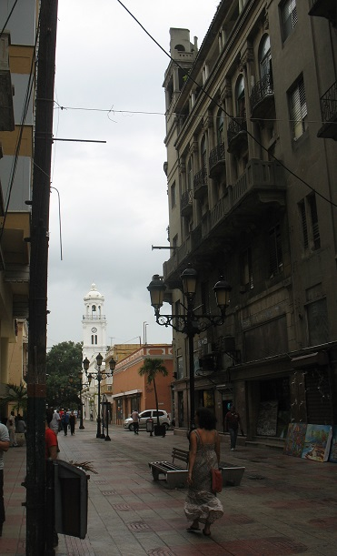The walking mall (Calle el Conde), Santo Domingo.