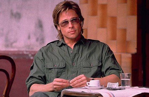 Brad Pitt in Spy Game