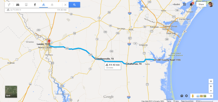 Texas Adventure Route