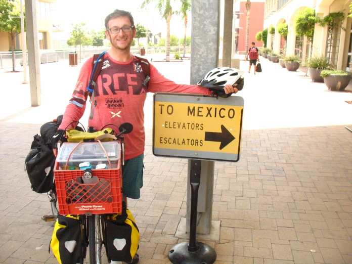 André's Great Adventure reaches the Mexico border!