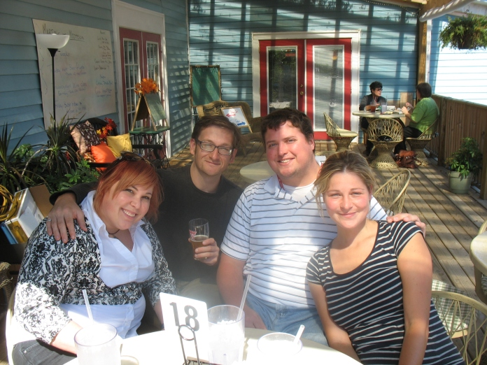 Carla, me, Ryan and Katya.