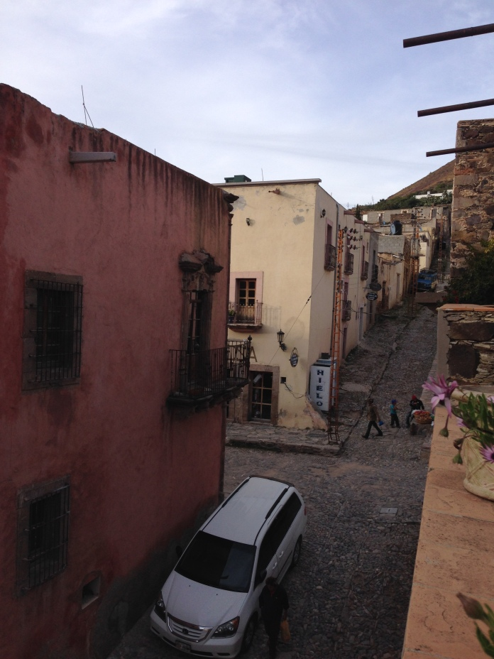 Streets of Real de Catorce. Photo by André.