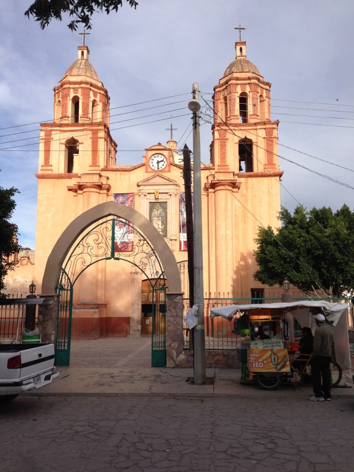 Parish church in Mocetzuma. Photo by André.