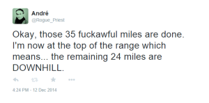 I was wrong about the 24 miles.