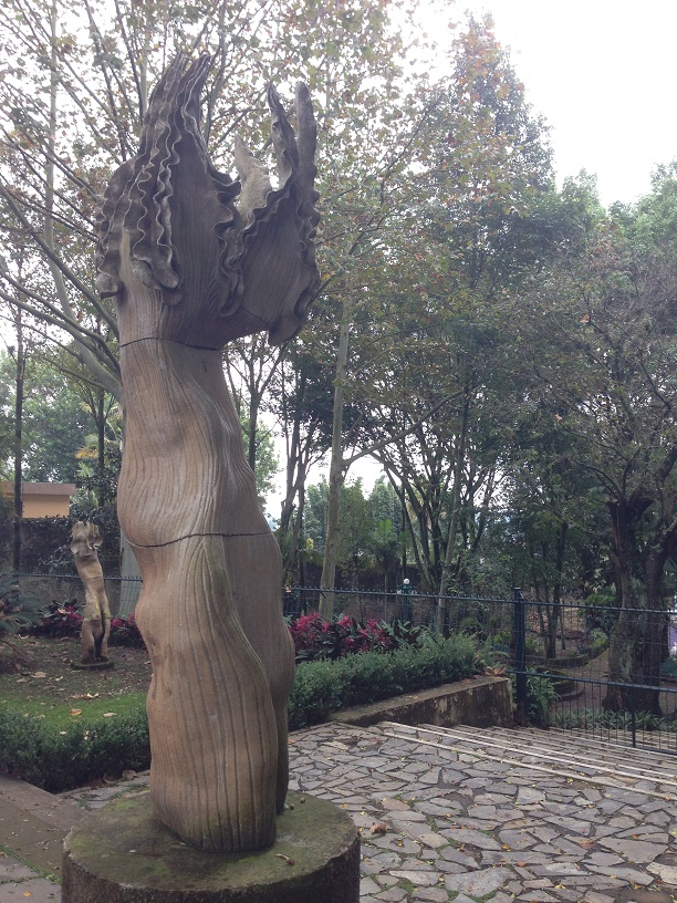 One of many public sculpture gardens in Xalapa.