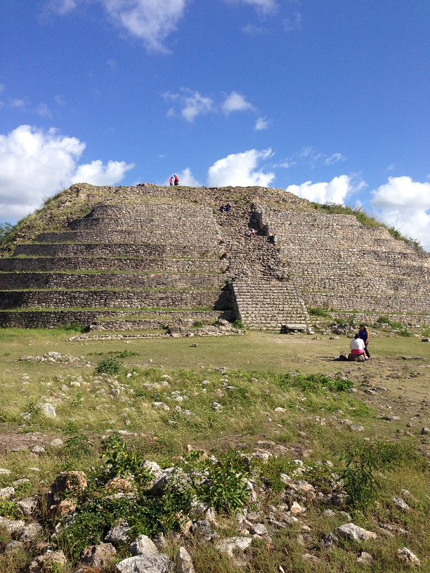 The pyramid itself. Photo by Andre.