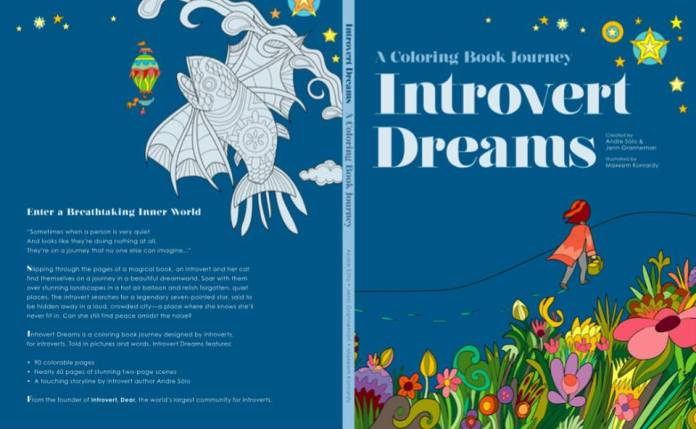 Introvert Dreams front and back cover