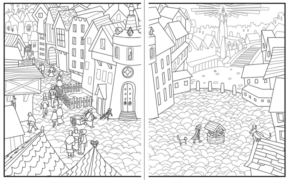 The First Coloring Book For Introverts